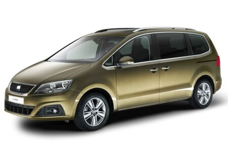 dachtr ger f r seat alhambra mit dachschiene 5 door mpv. Black Bedroom Furniture Sets. Home Design Ideas