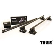 Thule WingBar Black Kia Carens MK4 2013 -, W