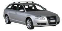 Whispbar by Yakima Flush Träger für  AUDI A6 AVANT,  2005-, (integratet rails),   K422 mount  + S6
